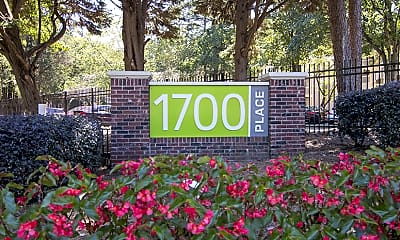 Community Signage, 1700 Place, 2
