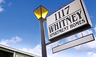Community Signage, 1117 Whitney, 2