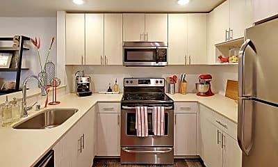 Kitchen, Starboard Apartments, 0