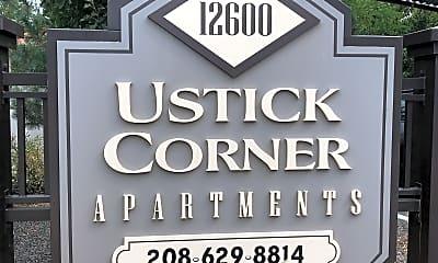 Ustick Apartments, 1