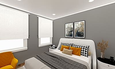 Bedroom, 317 Allston Street, Unit 6, 0