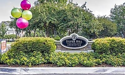 Community Signage, Silver Hill At Arboretum Senior Living, 2