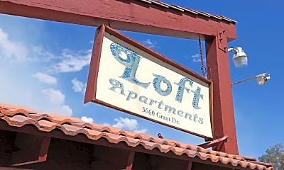 Community Signage, The Loft, 2