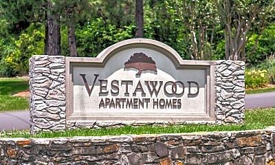Community Signage, Vestawood Apartments, 2