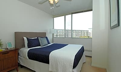 Bedroom, Park Tower Apartments, 2
