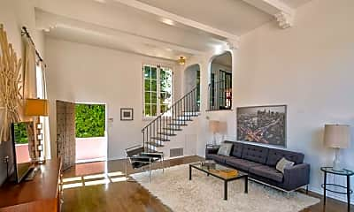 Living Room, 1936 1/2 N Orchid Ave, 1