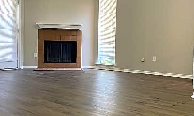 Living Room, 9809 Walnut St, 1