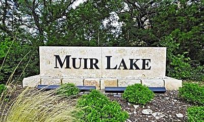 Community Signage, Muir Lake Apartments, 2