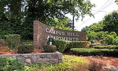 Campus Hill Apartments, 1