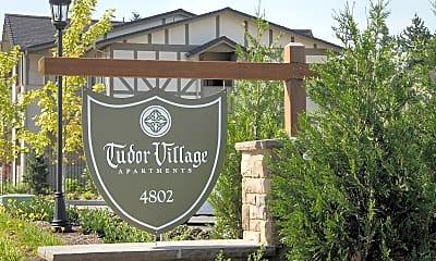 Community Signage, Tudor Village, 0
