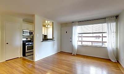 Living Room, 1220 Hayes St, 0
