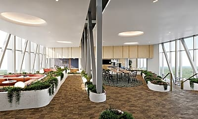 community lobby featuring natural light, The Elm, 1