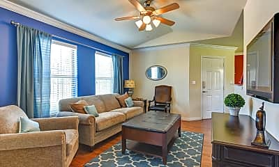 Living Room, Bridgemoor At Killeen Apartments, 1