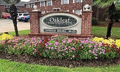 Oakleaf Townhouses, 1