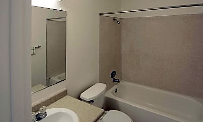 Bathroom, Cypress Apartments, 2