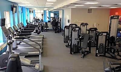 Fitness Weight Room, Alterra At Overlook Ridge, 2