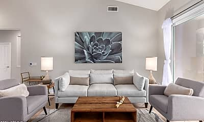 Living Room, 7369 E Softwind Dr, 0