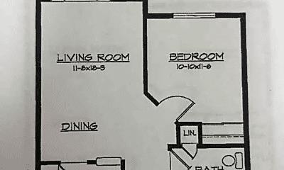 Patio / Deck, 8310 University Ave NE, 2