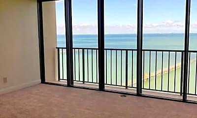 Patio / Deck, 4350 Ocean Dr 802, 1