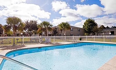 Pool, Magnolia Bay Apartments, 0