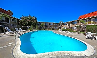 Pool, Royal Garden Apartments, 0