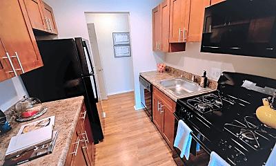 Kitchen, Goshen Manor Apartments, 1