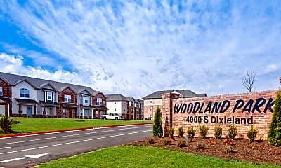 Community Signage, Woodland Park, 2