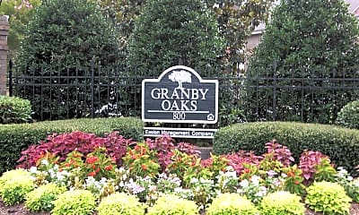 Landscaping, Granby Oaks, 1
