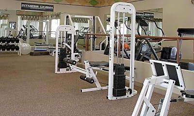 Fitness Weight Room, Summerlin Villas, 1