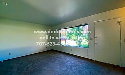 Living Room, 5059 Charmian Drive, 1