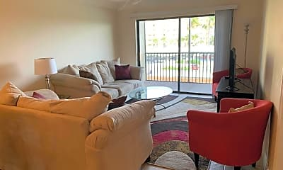 Living Room, 500 Palm Springs Blvd 304, 1