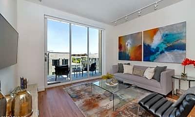 Living Room, 5315 E High St 305A, 1