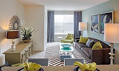Living Room, Avalon Hackensack At Riverside, 1