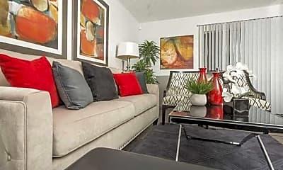 Living Room, Northgate Hills, 1