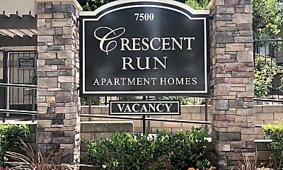 Community Signage, 7500 Crescent Ave, 1