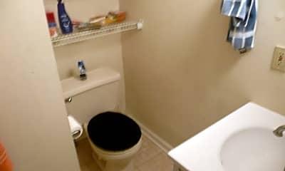 Bathroom, 422 N Salisbury St, 2