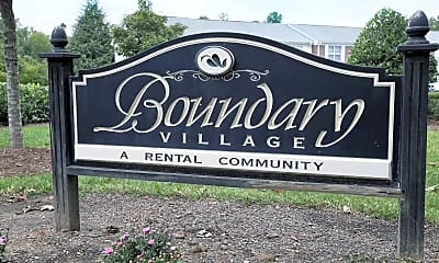 Community Signage, Boundary Village Apartments and Townhomes, 2