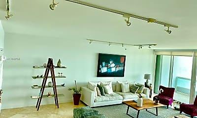 Living Room, 1643 Brickell Ave 1005, 1