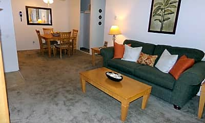 Living Room, Shasta Terrace, 1