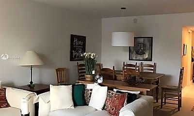 Living Room, 4200 Oaks Terrace 206, 2