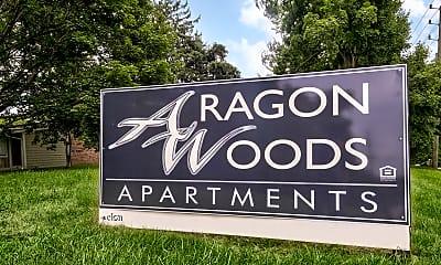 Community Signage, Aragon Woods, 2