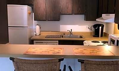 Kitchen, 411 Hobron Ln 610, 1
