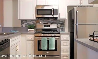Kitchen, 8600 Emerson Avenue Leasing Office, 0