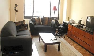 Living Room, 200 Rector Pl 5N, 1