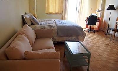 Bedroom, 393 W 49th St, 1