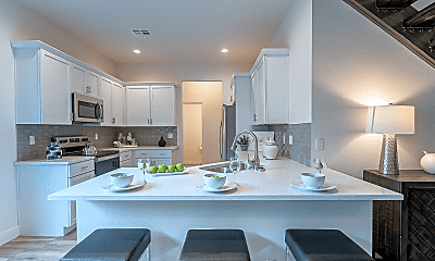 Kitchen, Park Central Luxury Townhomes, 1