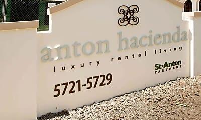 Community Signage, Anton Hacienda, 2