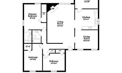 Building, 3705 Bartlett Ct, 1