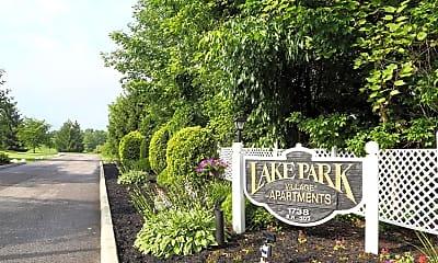 Community Signage, Lake Park Village, 2