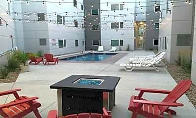 Courtyard, Prime Place Apartments, 1